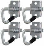 Hampton Products-Keeper 05623 Anchor Point Swivel Hook, 4-Pk.