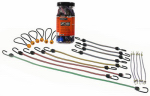 Hampton Products-Keeper 06320 Bungee Cords, Assorted Colors, 20-Pc.