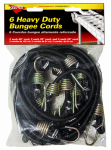 Hampton Products-Keeper 06356 Heavy-Duty Bungee Cords, 6-Pk.