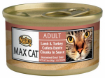 American Distribution & Mfg 35290 Cat Food, Canned, Lamb & Turkey, 3-oz.