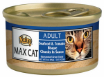 American Distribution & Mfg 35298 Cat Food, Canned, Seafood & Tomato, 3-oz.