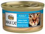 American Distribution & Mfg 35292 Cat Food, Canned, Salmon, 3-oz.