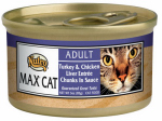 American Distribution & Mfg 35296 Cat Food, Canned, Turkey & Chicken Liver, 3-oz.