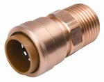 B&K 650-104HC Adapter Pipe Fitting, 3/4-In. Copper x 3/4-In. Male Thread
