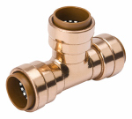B&K 652-003HC Tee Pipe Fitting, 1/2 x 1/2 x 1/2-In. Copper
