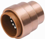 B&K 653-004HC Tube Cap Fitting, 3/4-In. Copper