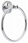 Liberty Hardware 132889 Silverton Collection Towel Ring, Polished Chrome