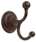 Liberty Hardware 134439 Providence Collection Double Robe Hook, Venetian Bronze