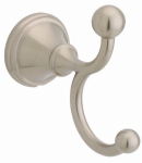 Liberty Hardware 136883 Crestfield Collection Double Robe Hook, Satin Nickel