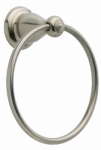 Liberty Hardware 77846-SS Leland Collection Towel Ring, Brilliance Stainless Steel