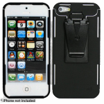 Nite Ize CNT-IP5-01SC iPhone 5 Connect Case, Black Polycarbonate