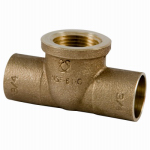 Elkhart Products 56960 1/2x1/2x1/2 Copper Tee