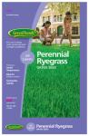Barenbrug Usa 22203 Perennial Ryegrass Seed, 3-Lbs.
