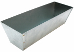 Marshalltown Trowel 16393 Mud Pan, Galvanized Steel, 12-In.