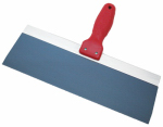 Marshalltown Trowel 18721 Pro-Style Blue Steel Drywall Taping Knife, Flexible, 10-In.