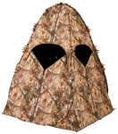 Evolved Ingenuity 1RX1S008 Hunting Outhouse Ground Blind, Camo Pattern, 68 x 68 x 78-In.