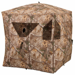 Evolved Ingenuity 1RX3H019 Hunting Brickhouse Ground Blind, Camo Pattern, 59 x 59 x 67-In.