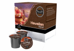 Keurig Green Mountain 120254 K-Cup Single-Serve Coffee, Tully's Hawaiian Blend, 18-Ct.