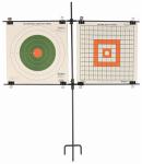 Allen 1529 Paper Target Rack, 8-Clips