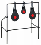 Allen 1526 Triple Spinner Target, Black & Orange Metal