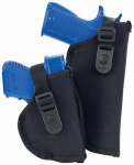 Allen 44807 Cortez Pistol Holder, Black Nylon, Size 7