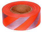 Allen 46 Flagging Tape, Reflective Orange, 1-In. x 150-Ft.