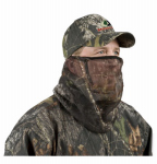 Maurice Sporting Goods MO-34CH-BU Mesh Headnet, Partial Cover, Mossy Oak Camouflage