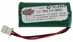 Interstate All Battery Ctr TEL0068 Cordless Telephone Battery, 2.4-Volt, 750Mah Ni-Mh