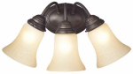 Westinghouse Lighting 62239 Wall Light Fixture, Indoor, Oil Rubbed Bronze & Aged Alabaster Glass, 60-Watt, 17.25 x 8.875-In.