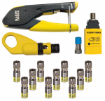 Klein Tools VDV002-818 Coax Install/Test Kit