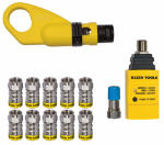 Klein Tools VDV002-820 Coax Quick Install & Test Kit