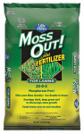 Central Garden Brands 100508946 Moss Outdoor or Outer Plus Fertilizer, 20-Lb.