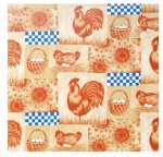 Kittrich 03-462-12 Shelf Liner, Adhesive, On The Farm Pattern, 18-In. x 9-Ft.