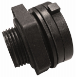 Genova Products 38805 Bulkhead Fitting, Schedule 40, 1/2-In.