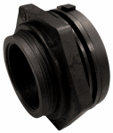Genova Products 38820 Pipe Fitting, PVC Bulkhead Fitting, 2-In.