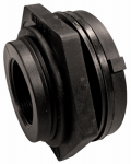Genova Products 38815 Pipe Fitting, PVC Bulkhead Fitting, 1-1/2-In.