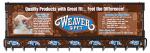 Weaver Leather BOARD-1 1Tier Pet DSP Rack