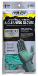 Big Time Products 13213-26 Gloves for Stripping, Refinishing & Cleaning, Nitrile Rubber, Large
