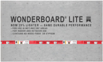 Custom Bldg Products GCB60L Wonderboard Lite, 3 x 5-Ft. x 7/16-In.