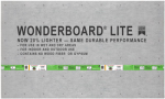 Custom Bldg Products FLB60L Wonderboard Lite, 3 x 5-Ft. x 1/4-In.