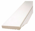 Inteplast Building Products 236007706 Garage Door Weatherstripping, White PVC, 2-In. x 7-Ft.