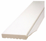 Inteplast Building Products 236009706 Garage Door Weatherstripping, White PVC, 2-In. x 9-Ft.