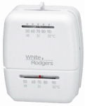 White-Rodgers Division M30 Heat Only Thermostat,  Snap-Action, 24-Volts