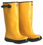 Boss Mfg 2KP448116 17-In. Waterproof Yellow Boots, Size 16