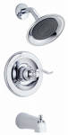Delta Faucet 144996 Monitor 14 Series Tub & Shower Faucet + Showerhead, 1-Handle, Chrome