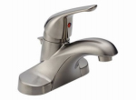 Delta Faucet B510LF-SSPPU-ECO Lavatory Faucet, Single Handle, Stainless Steel
