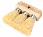 Cequent Consumer Products 909 Roofing Brush, Tampico & Hardwood, 3-Knot