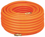 Schrader/Amflo 576-100A Air Hose, 300-PSI, Orange PVC, 1/4-In. MNPT Fittings, 3/8-In. x 100-Ft.