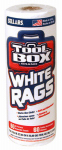 Sellars Wipers & Sorbents 5105601 Painters' Towels, White, 60-Ct. Roll