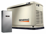 Generac Power Systems 7032 Air-Cooled Standby Generator, 11/10K-Watts + FREE 10-Yr. Extended Warranty